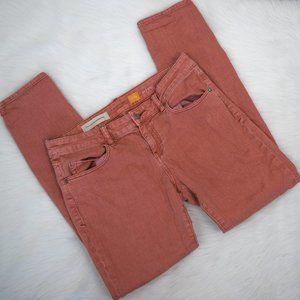 Anthropologie Pilcro Orange Jeans